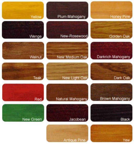 Morrells Light Fast Stain Brown Mahogany, 1L Image 2