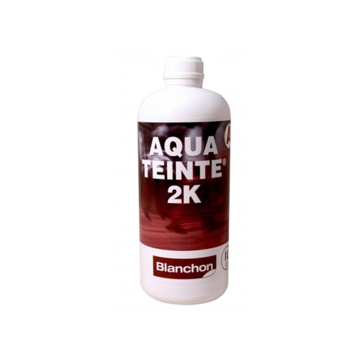Blanchon Aquateinte 2K, PU Waterbased Stain, Black, 1L Image 1