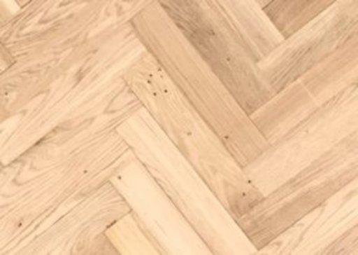 Tradition Classics Solid Oak Parquet Flooring Blocks, Unfinished, Rustic, 22x70x350 mm Image 1
