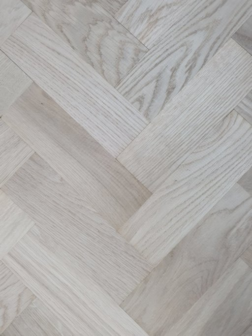 Tradition Classics Solid Oak Parquet Flooring Blocks, Unfinished, Prime, 22x70x230 mm Image 2