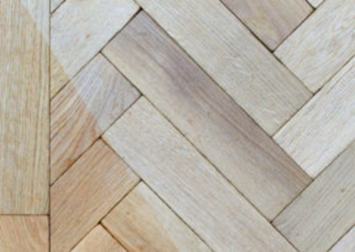 Tradition Classics Solid Oak Parquet Flooring Blocks, Tumbled, Unfinished, Rustic, 22x70x280 mm Image 1