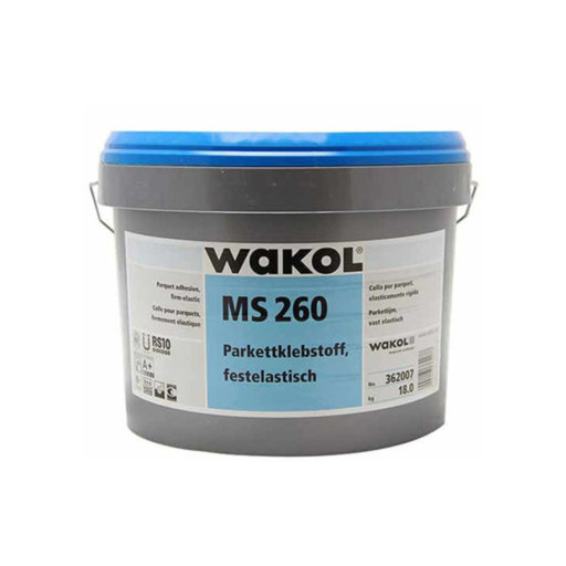 Wakol MS260 Plus Engineered Wood Floor Adhesive, 18 kg Image 1