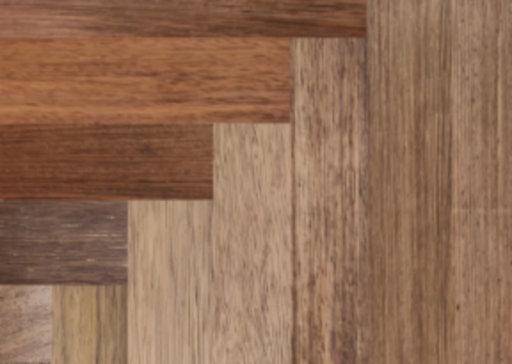 Tradition Classics Solid Merbau Parquet Flooring Blocks, Unfinished, Natural, 18x70x280 mm Image 1