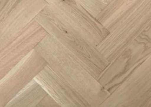 Tradition Classics Solid Oak Parquet Flooring Blocks, Unfinished, Rustic, 16x70x280 mm Image 1