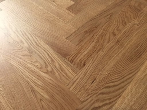 Tradition Classics Herringbone Engineered Oak Flooring, Prime, Lacquered, 70x11x350 mm Image 1