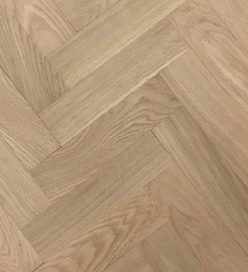 Tradition Classics Herringbone Engineered Oak Parquet Flooring, Unfinished, Prime, 70x20.6x280 mm Image 1