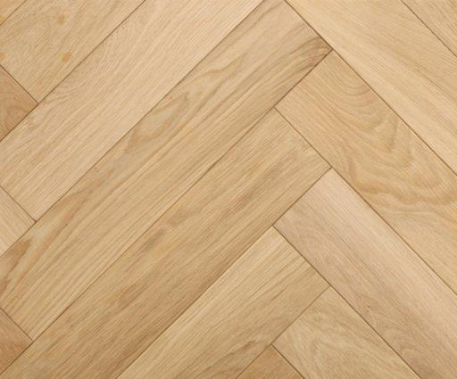 Tradition Classics Herringbone Engineered Oak Parquet Flooring, Prime, Unfinished, 100x20.6x500 mm Image 1