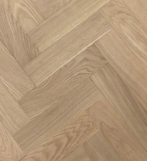 Tradition Classics Herringbone Engineered Oak Parquet Flooring, Unfinished, Prime, 70x20.6x350 mm Image 1