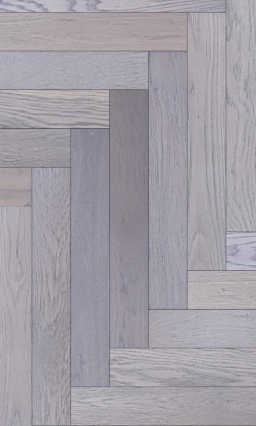 Tradition Classics Herringbone Engineered Oak Flooring, Rustic, Grey Oiled, 120x15x600 mm Image 1