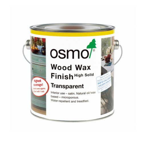 Osmo Wood Wax Finish Transparent, Granite Grey, 2.5 L Image 1