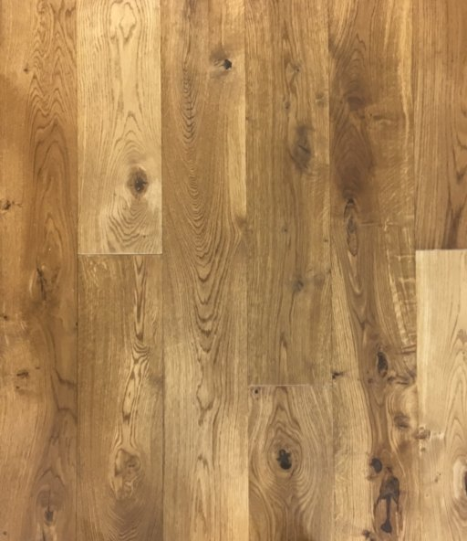 Tradition Classics Smoked Oak Engineered Flooring, Rustic, Brushed, UV Oiled, 185x13.3x2130 mm Image 1
