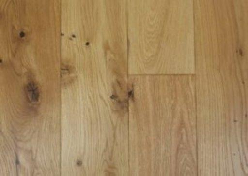 Tradition Classics Oak Engineered Flooring, Rustic, Brushed, Matt Lacquered, 125x14x1200 mm Image 1