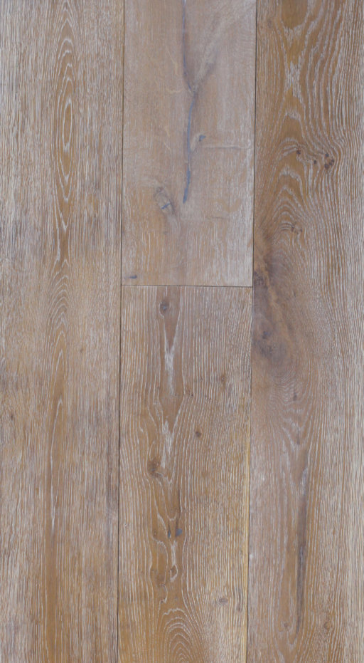 Tradition Classics Engineered Oak Flooring, Rustic, Smoked, Brushed & White Oiled, 190x20x1900 mm Image 1