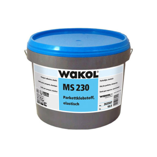 Wakol MS230 Wood Flooring Adhesive, 9 kg Image 1