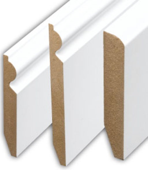 Tradition 4'' Paintable Pencil Round Skirting Profile Image 2