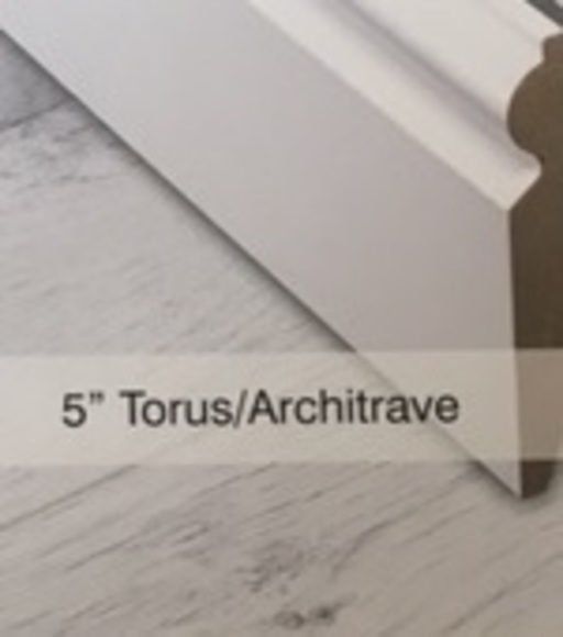 Tradition 5'' Paintable Torus Skirting Profile Image 1