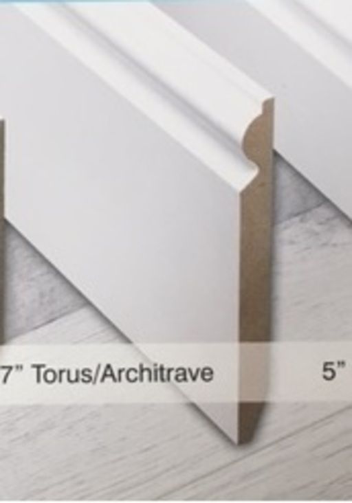 Tradition 7'' Paintable Torus Skirting Profile Image 1