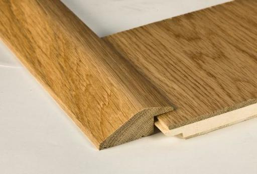 Traditions Solid Oak Reducer Threshold, Lacquered, 7 mm, 90 cm Image 1