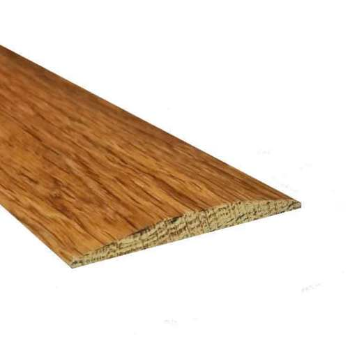 Solid Oak Flat Threshold Strip, Lacquered, 0.9m Image 1
