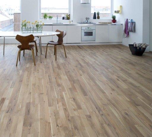 Junckers Solid Nordic Oak 2-Strip Flooring, Matt Lacquer, Harmony, 129x22 mm Image 2