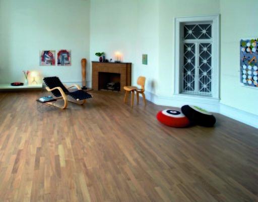 Junckers Solid Nordic Oak 2-Strip Flooring, Matt Lacquer, Harmony, 129x22 mm Image 3
