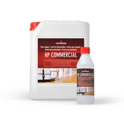 Junckers HP Commercial Varnish, Satin, 4.5L Image 1