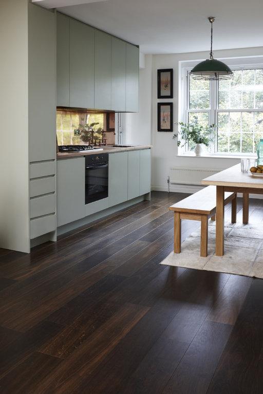 Junckers Black Oak Boulevard Solid Wood Flooring, Ultra Matt Lacquered, Harmony, 185x20.5 mm Image 4