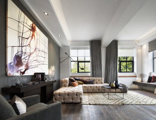 Junckers Black Oak Boulevard Solid Wood Flooring, Harmony, Oiled, 185x20.5 mm Image 6
