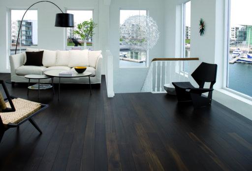 Junckers Black Oak Boulevard Solid Wood Flooring, Harmony, Oiled, 185x20.5 mm Image 1