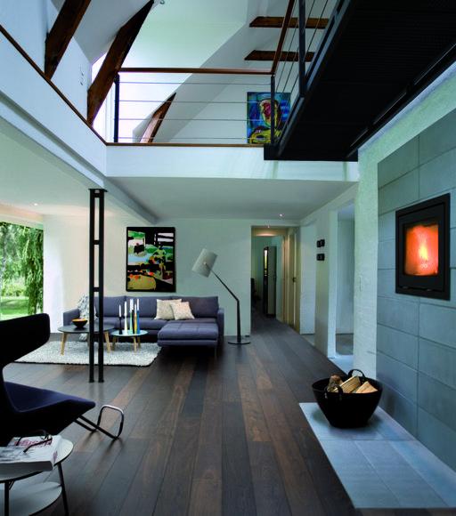 Junckers Black Oak Boulevard Solid Wood Plank Flooring, Untreated, Harmony, 185x20.5 mm Image 1