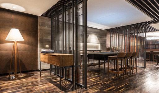 Junckers Solid Black Oak 2-Strip Flooring, Oiled, Harmony, 129x14 mm Image 1