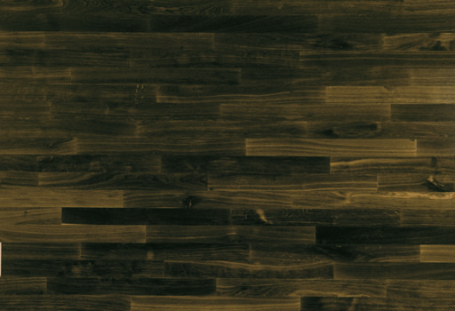 Junckers Solid Black Oak 2-Strip Flooring, Untreated, Harmony, 129x14 mm Image 1