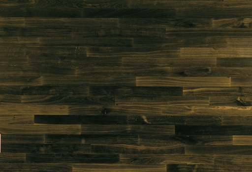 Junckers Solid Black Oak 2-Strip Flooring, Untreated, Harmony, 129x22 mm Image 1