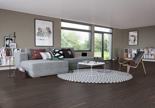 Junckers Black Oak Solid Wood Flooring, Oiled, Harmony, 140x20.5 mm Image 1