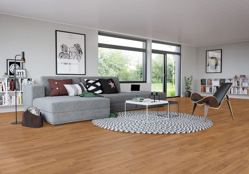 Junckers Beech SylvaKet Solid 2-Strip Flooring, Silk Matt Lacquered, Harmony, 129x22 mm Image 1