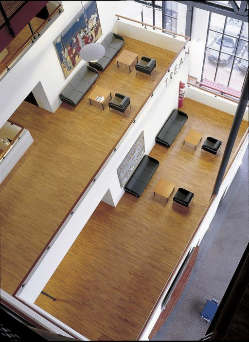 Junckers Beech SylvaKet Solid 2-Strip Wood Flooring, Untreated, Variation, 129x14 mm Image 2
