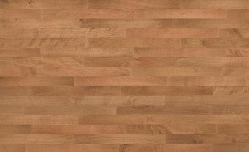 Junckers Beech SylvaRed Solid 2-Strip Wood Flooring, Silk Matt Lacquered, Classic, 129x14 mm Image 2