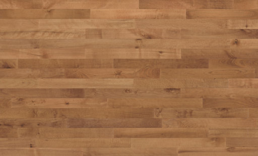 Junckers Beech SylvaRed Solid 2-Strip Wood Flooring, Silk Matt Lacquered, Harmony, 129x14 mm Image 2