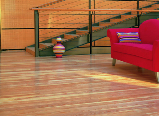 Junckers Dark Ash Solid Wood Flooring, Silk Matt Lacquered, Classic, 140x20.5 mm Image 1