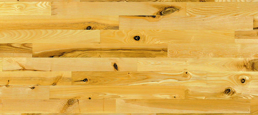 Junckers Light Ash Solid 2-Strip Wood Flooring, Silk Matt Lacquered, Variation, 129x14 mm Image 1