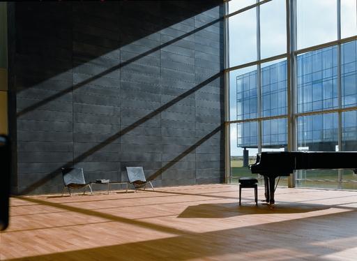 Junckers Light Ash Solid 2-Strip Wood Flooring, Silk Matt Lacquered, Variation, 129x22 mm Image 1