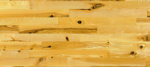 Junckers Light Ash Solid 2-Strip Wood Flooring, Silk Matt Lacquered, Variation, 129x22 mm Image 3