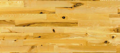Junckers Light Ash Solid 2-Strip Wood Flooring, Ultra Matt Lacquered, Variation, 129x22 mm Image 1