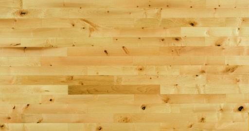 Junckers Maple 2-Strip Solid Wood Flooring, Silk Matt Lacquered, Variation, 129x22 mm Image 3