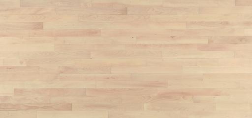 Junckers Nordic Beech Solid 2-Strip Wood Flooring, Ultra Matt Lacquered, Classic, 129x14 mm Image 3