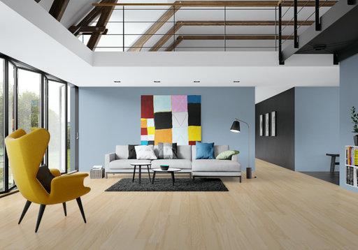 Junckers Nordic Light Ash Solid Wood Flooring, Ultra Matt Lacquered, Classic, 140x20.5 mm Image 4
