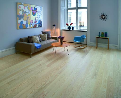 Junckers Nordic Light Ash Solid Wood Flooring, Ultra Matt Lacquered, Classic, 140x20.5 mm Image 5
