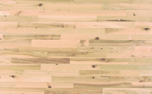 Junckers Nordic Light Ash 2-Strip Solid Wood Flooring, Ultra Matt Lacquered, Variation, 129x14 mm Image 3