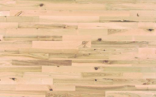 Junckers Nordic Light Ash 2-Strip Solid Wood Flooring, Ultra Matt Lacquered, Variation, 129x22 mm Image 3