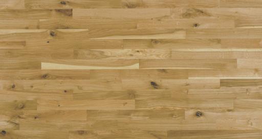 Junckers Solid Nordic Oak 2-Strip Flooring, Ultra Matt Lacquered, Variation, 129x22 mm Image 2